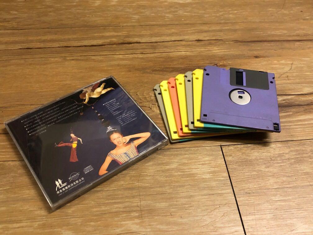 復古唱片與3.5磁片