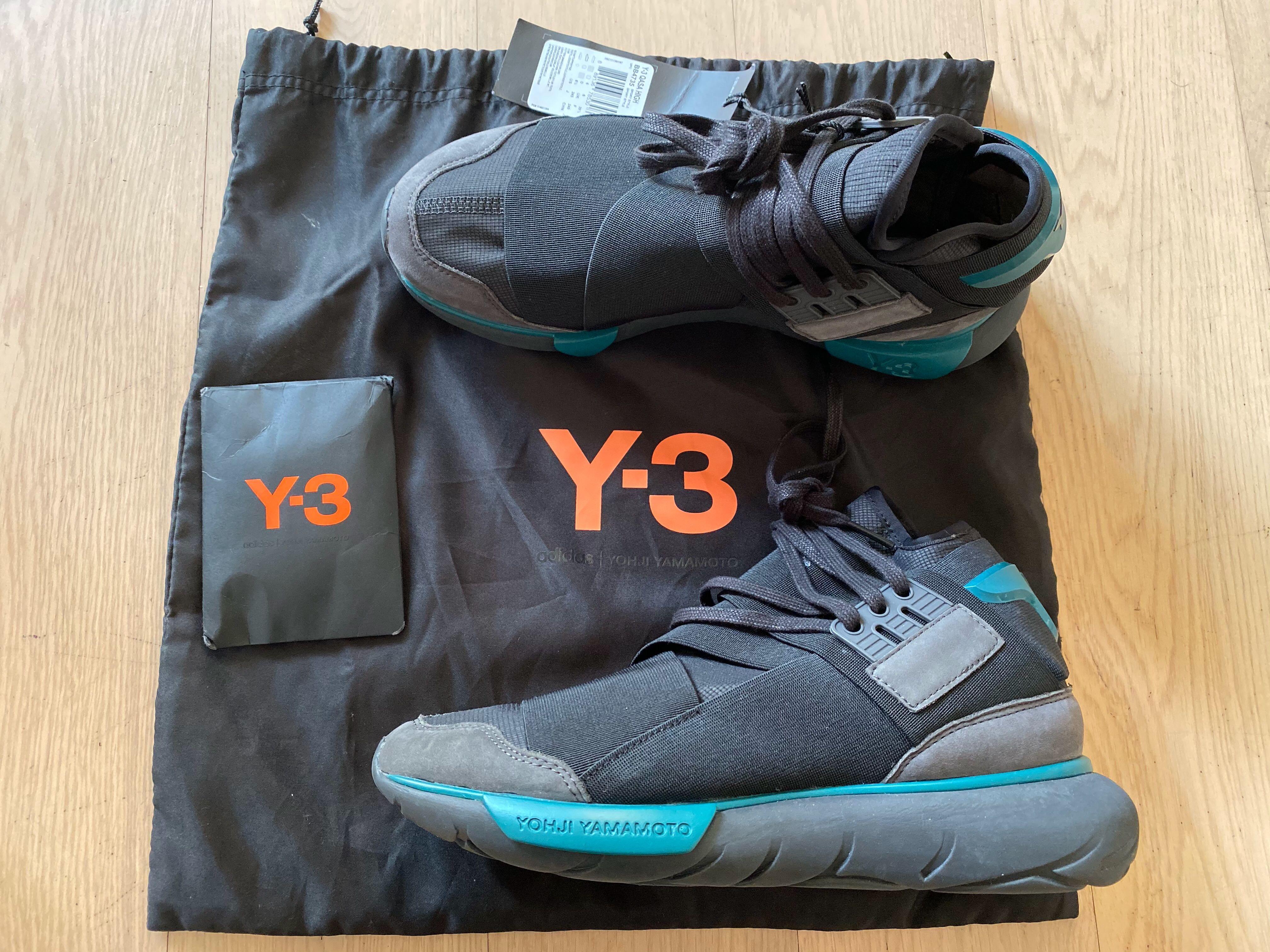 y3 qasa high 版 型