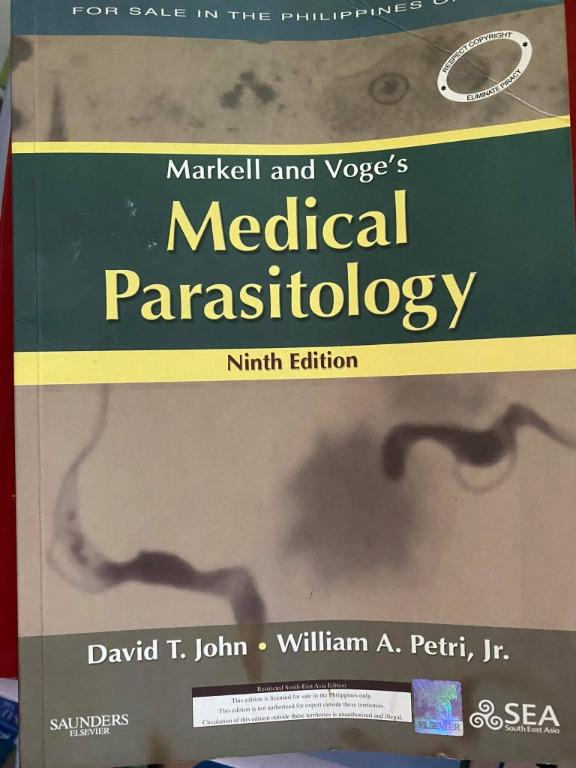 Markell and Voge's Medical Parasitology 9th Edition - Cheap Medical Books RUSH