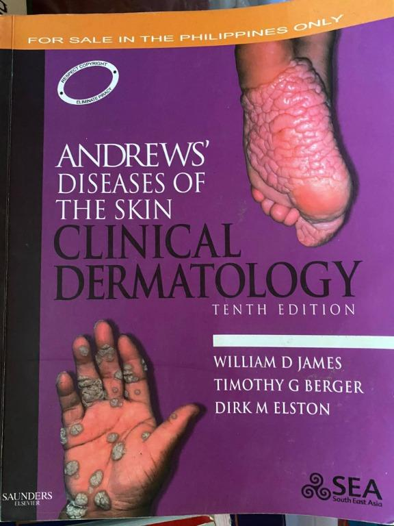 Andrews' Diseases of the Skin: Clinical Dermatology 10th Edition - Cheap Medical Books RUSH