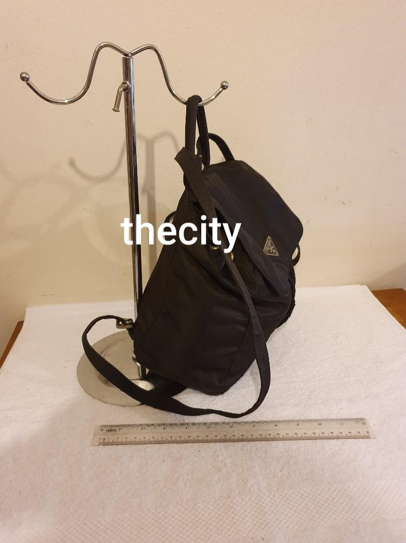 AUTHENTIC PRADA NYLON CANVAS BACKPACK - CLEAN INTERIOR - OVERALL GOOD