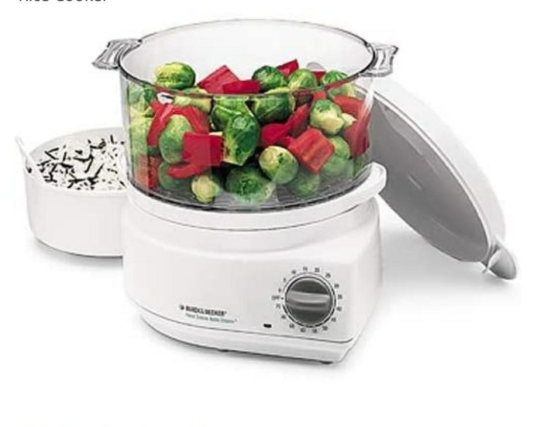 Black and Decker Handy Flavor Scenter Steamer and Rice Cooker