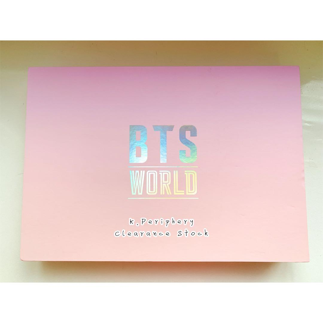 [RESERVED] BTS World OST Limited Edition Pink Outbox