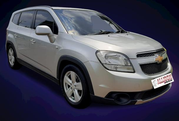 Chevrolet ORLANDO LT 1.8 AT 2012 (7 Seater) Silver #Dp 19,9 Jt#TOP Conditition#