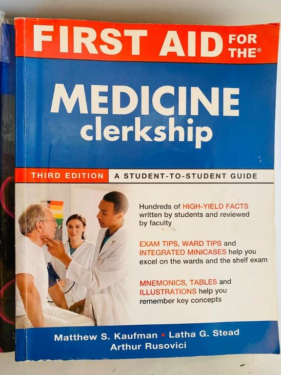 First Aid for the Medicine Clerkship, 3rd Edition - Cheap Medical Books RUSH