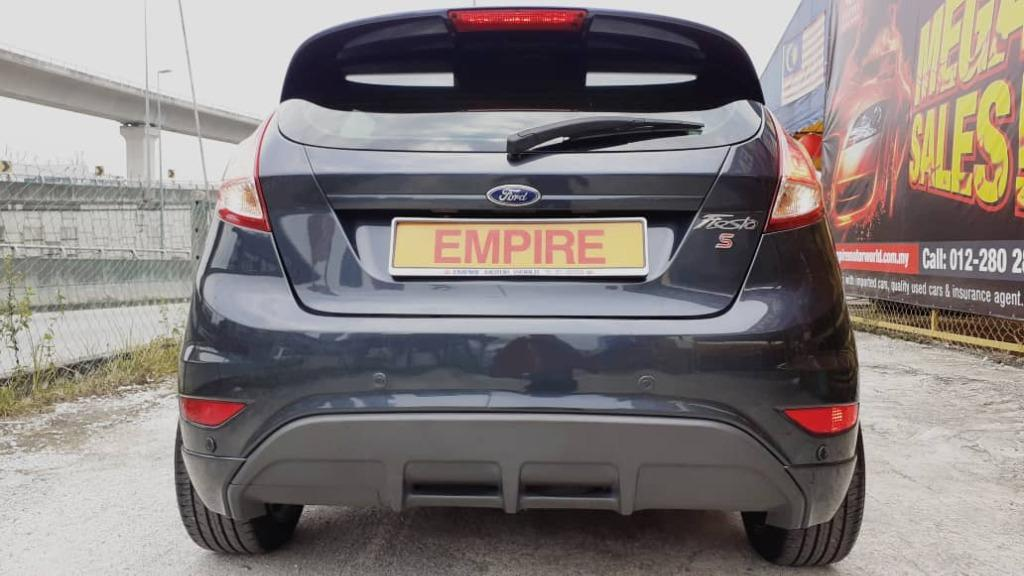 FORD FIESTA S 1.5L (A) SPORT TI-VCT 5 DOOR HATCHBACK !! ECO MODE !! FULL BODYKIT !! CBU LIMITED EDITION NEW FACELIFT !! PREMIUM HIGH SPECS !! ( X 6101 X ) 1 CAREFUL OWNER !!
