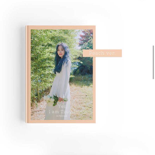[GROUP ORDER] TZUYU ( Twice ) 1st Photobook - YES I AM TZUYU