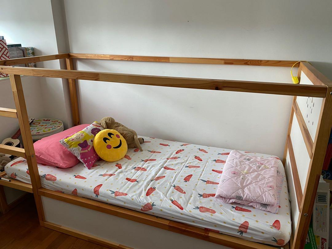 Ikea Kura Bunk Bed Furniture Beds Mattresses On Carousell