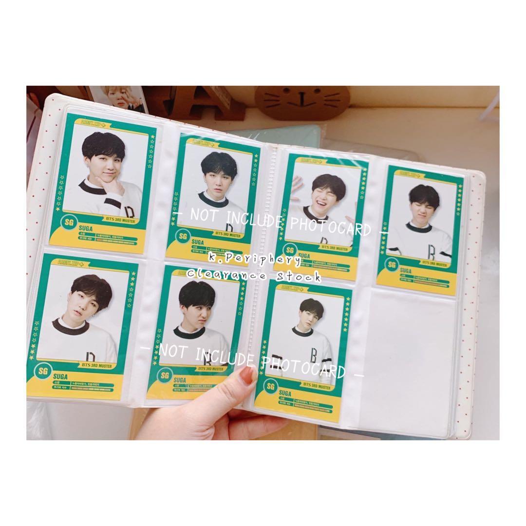 BTS / Blackpink / Red Velvet Kpop Idol Photocard Album