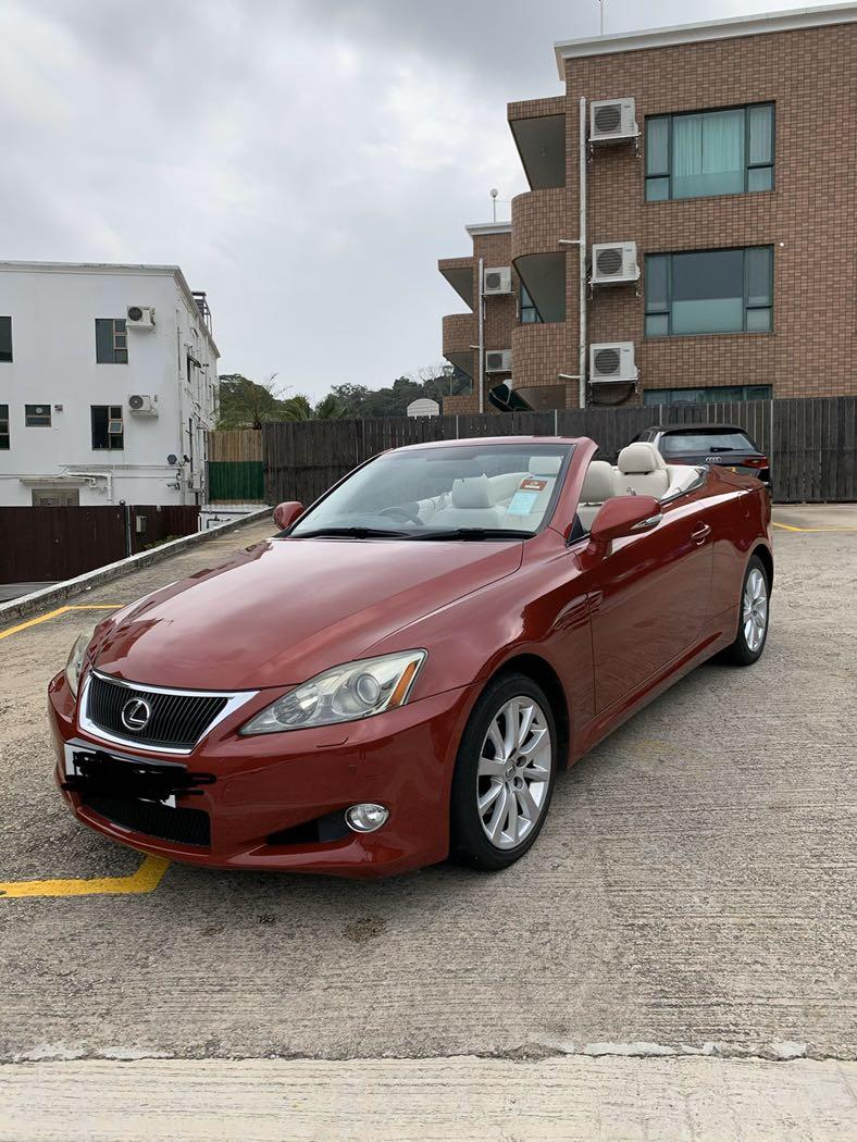 Lexus IS250C Convertible  Auto