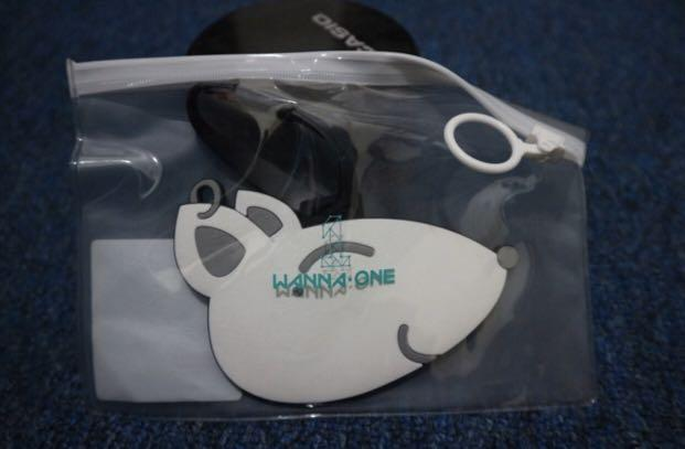 LIMITED!!! Kang Daniel luggage tag from Wannaone summer pop up store