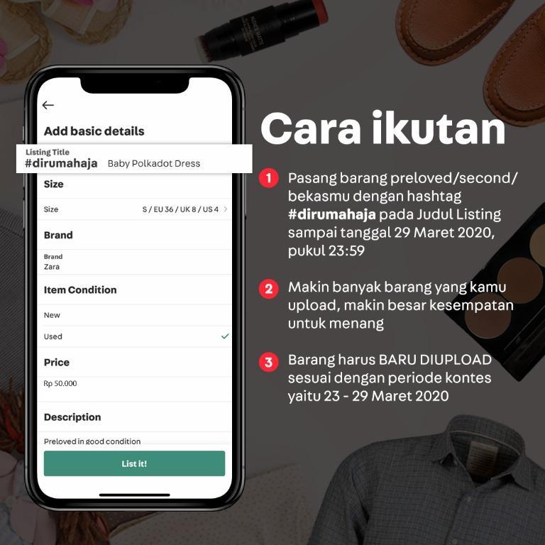 List & Win #dirumahaja