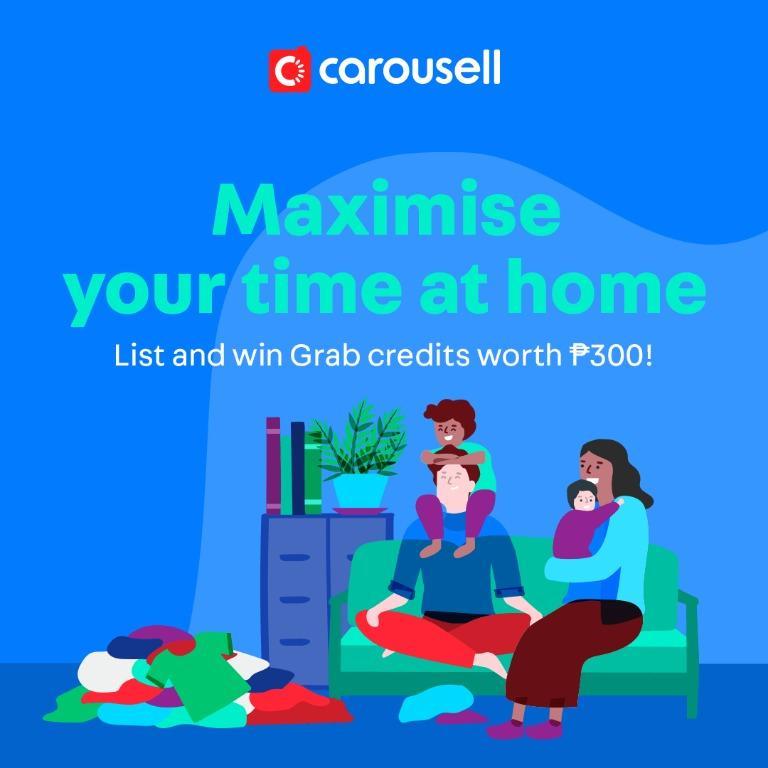 LIST & WIN: P300 Grab Credits