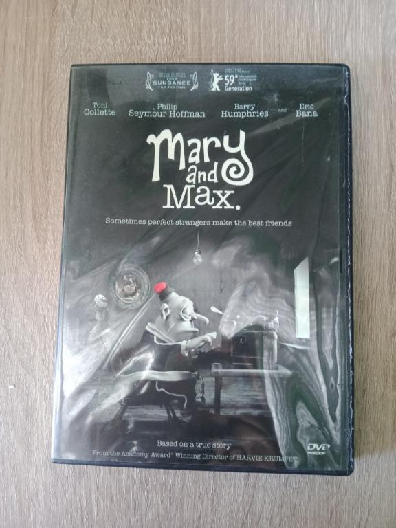 Mary And Max Dvd Music Media Cd S Dvd S Other Media On Carousell