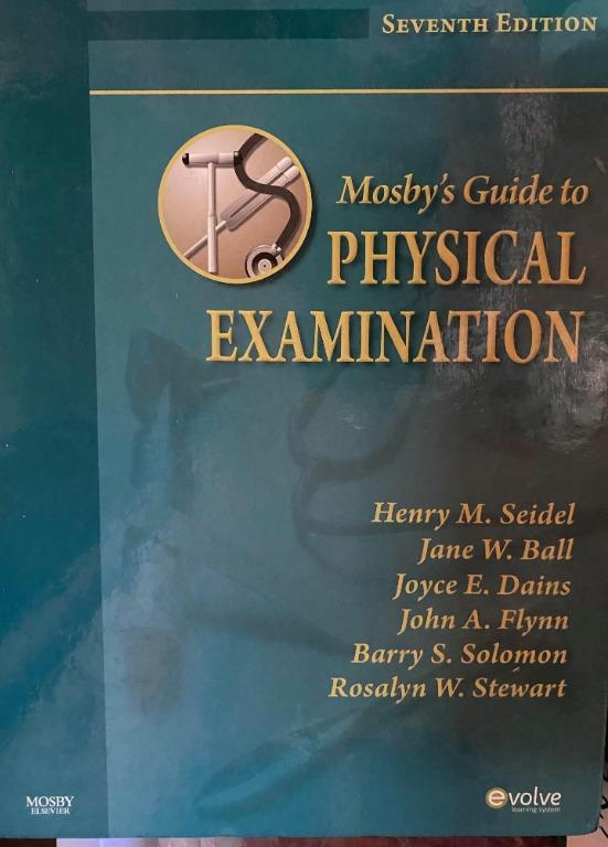 Mosby's Guide to Physical Examination 7th Edition - Cheap Medical Books RUSH