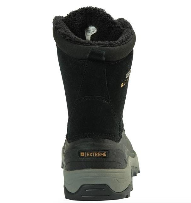 Mountain Warehouse Off-Piste Mens Snowboots Charcoal 021931 Size US10