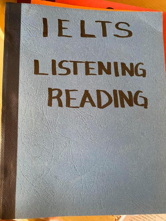 Niner IELTS 'Orange Book'  Reviewer and Listening and Reading Tasks Book (Photocopy)