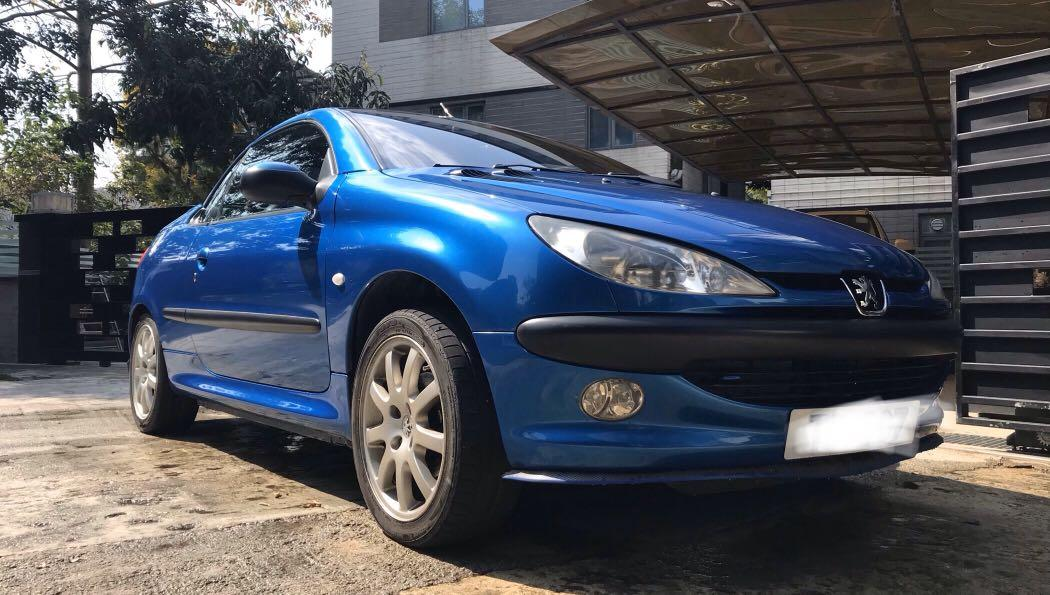 Peugeot 206 1.6 CC (A)