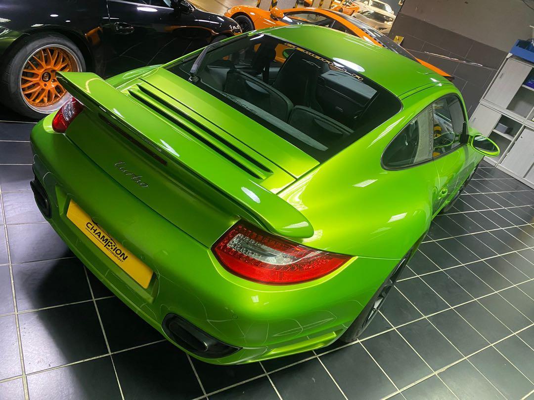 Porsche 911 Turbo Coupe (M)