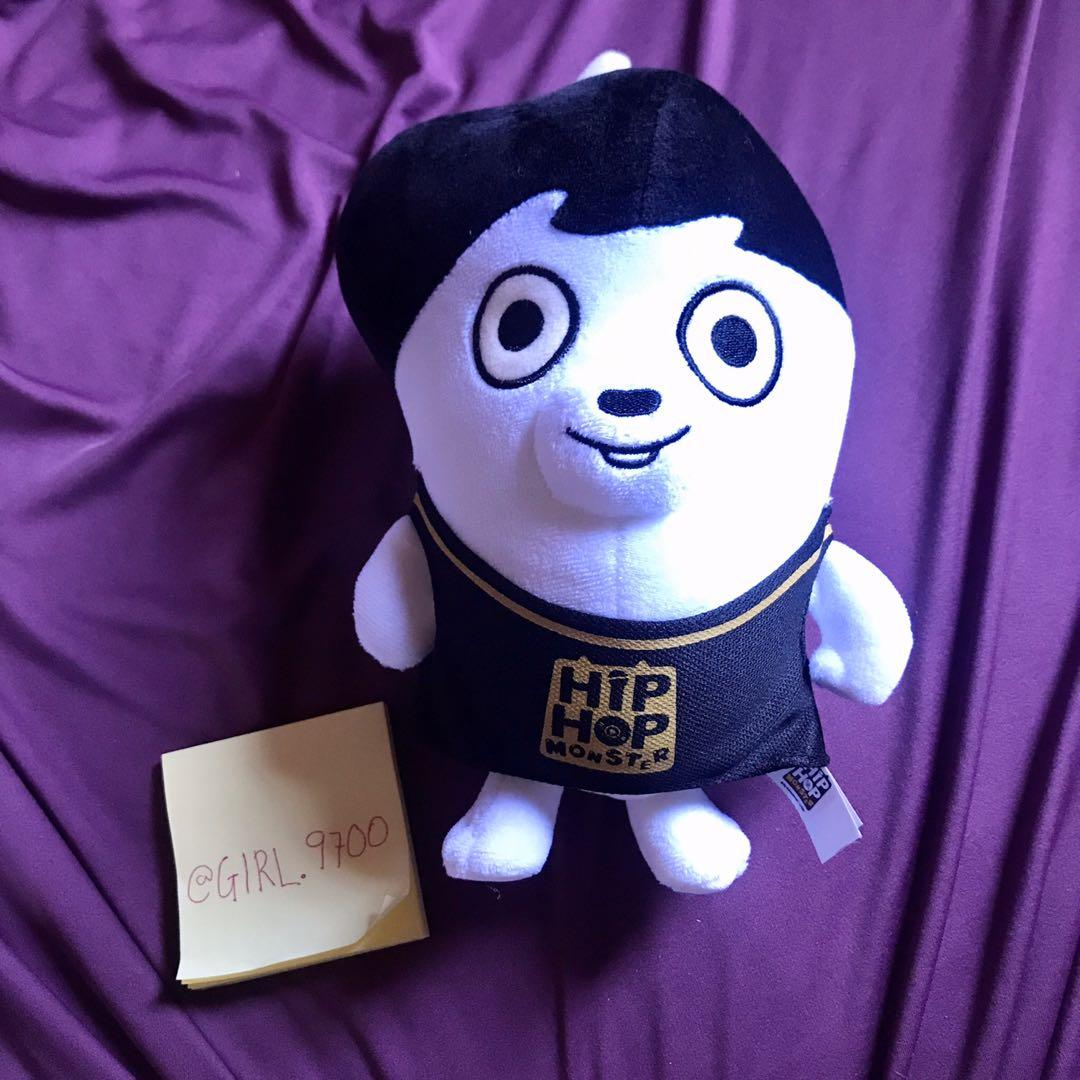 [PRELOVED] OFFICIAL BTS HIPHOP MONSTER PLUSHIE ver 2 JUNGKOOK