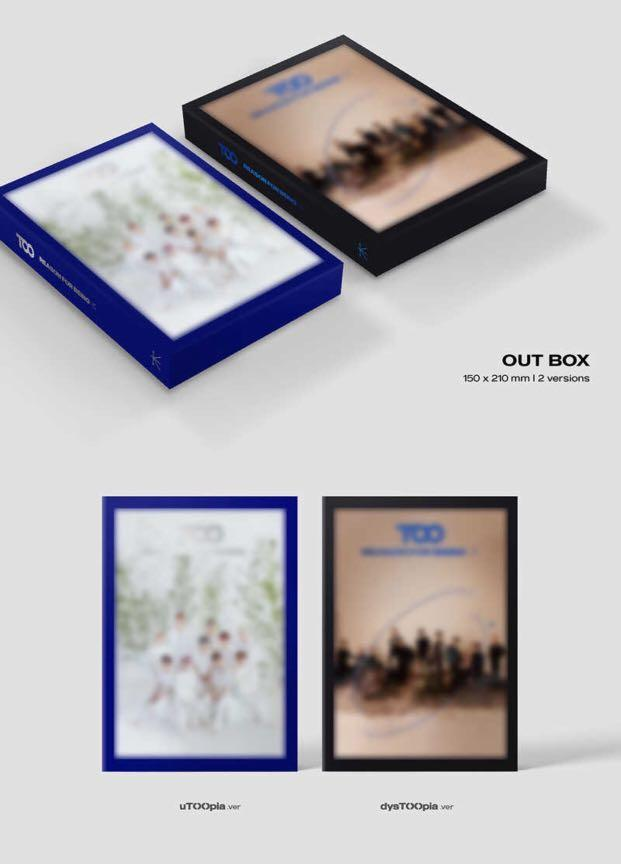 [PREORDER] TOO 1st Mini Album - REASON FOR BEING :IN