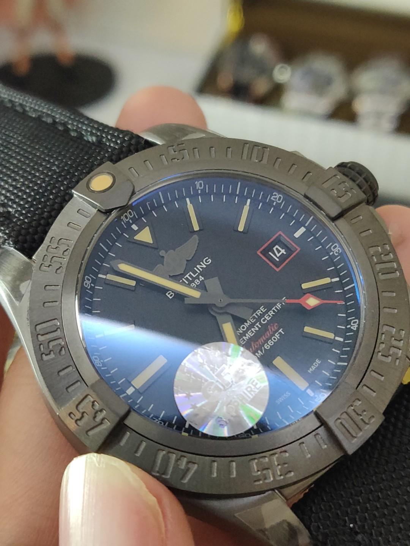 (Ready stock) GF Breitling Avenger Blackbird 44 V1731110/BD74/109W/M20BASA.1 Titanium Black Dial Swiss 2824-2