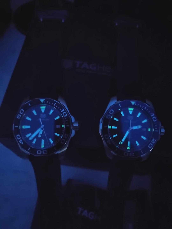 (Ready stock) Original Ressambled TagHeuer Aquaracer 300M Quartz Black Dial 41mm WAY111A.FT6151