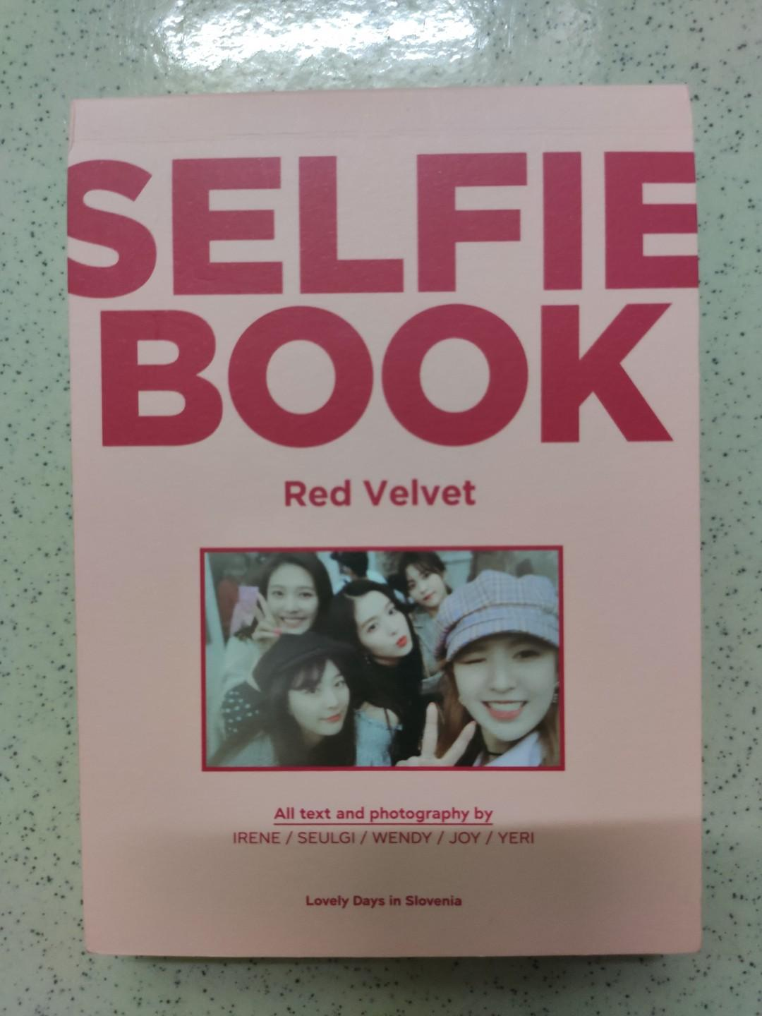 Red velvet Selfie book 2/Blackpink Kill this Love album/Red Velvet The Red/Rookie/Red summer/Peek A Boo/Bad Boy