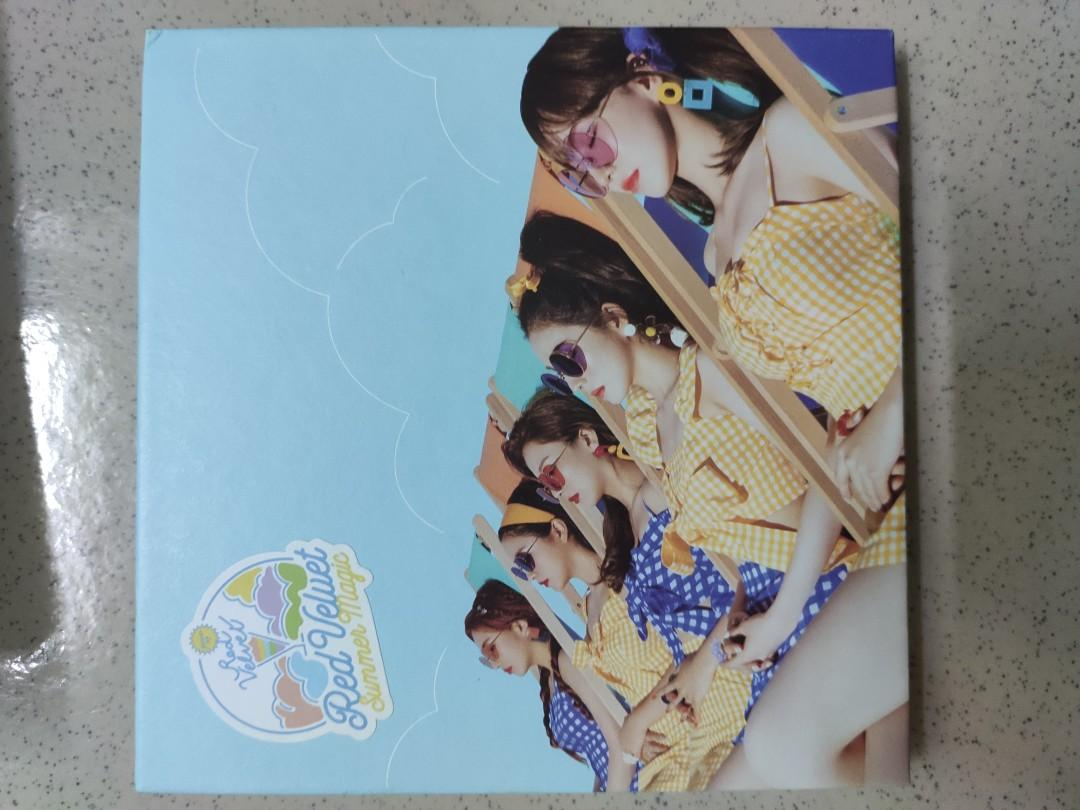 Red Velvet Summer Magic/RBB/RVF Day1/2/3(two versions)/Itzy It'z Icy album