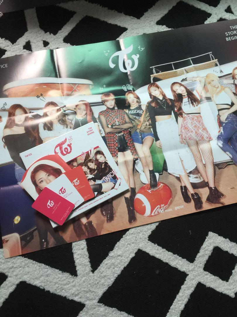 TWICE 1ST MINI ALBUM 'THE STORY BEGINS' UNSEALED (WITH PHOTOCARDS)