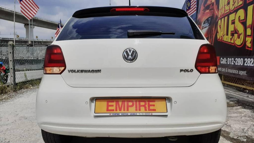 VOLKSWAGEN POLO 1.6 (A) PREMIUM SPORTY HATCHBACK !! 5 SEATERS !! LIMITED EDITION NEW FACELIFT !! PREMIUM HIGH SPECS !! ( WX 8821 X ) 1 CAREFUL OWNER !!