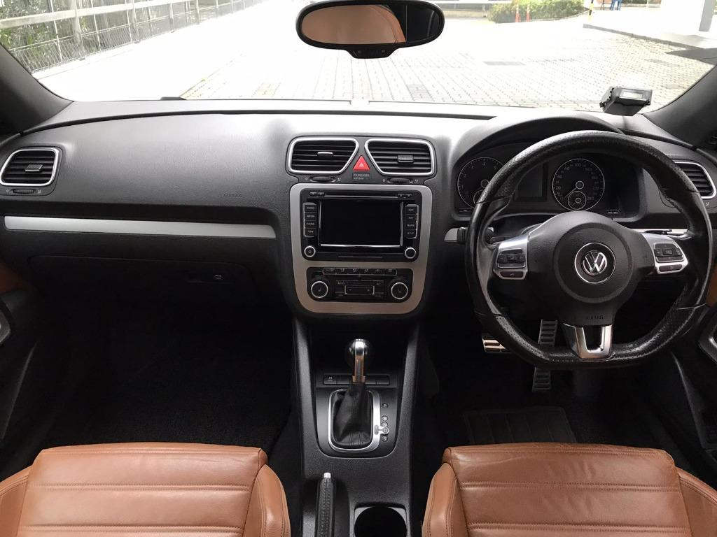 VW Scirocco HAPPY MONDAY!! JUST IN!! Fuel efficeint, spacious & well maintained! Enjoy FREE Petrol Voucher & FREE rental for new signups! Just $500 Deposit driveaway immediately! Whatsapp 8188 8616 now to enjoy special rates!!