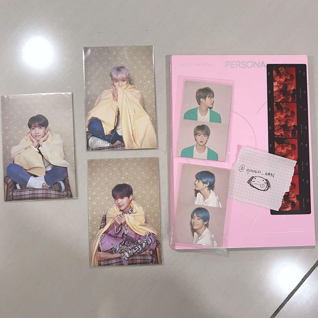 [WTS] BTS MAP OF THE SOUL MOTS: PERSONA VERSION 1 FULL SET