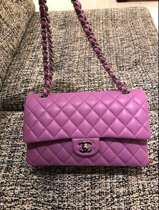 Chanel 粉紫銀coco25