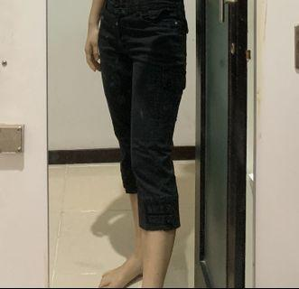 Straight Pants 3/4