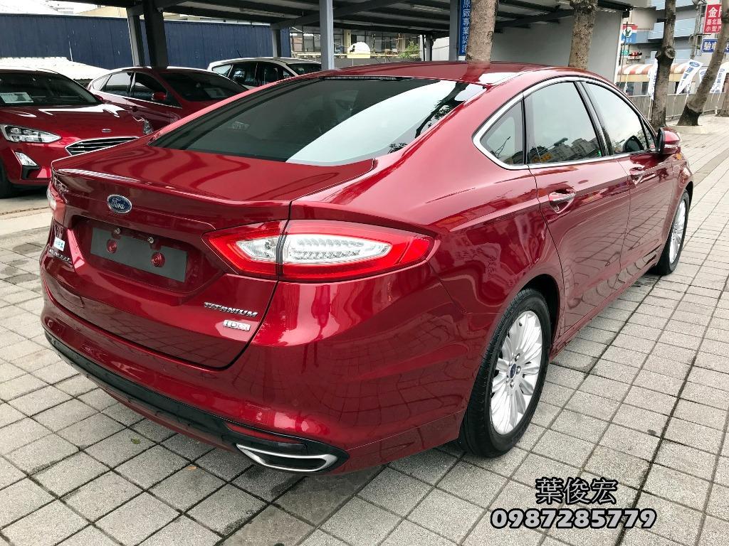 福特原廠認證中古車2016年Ford Mondeo TDCI MK5 柴油油耗佳 扭力強 原廠認證保固