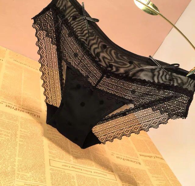 性感❤️女神波點里絲內褲