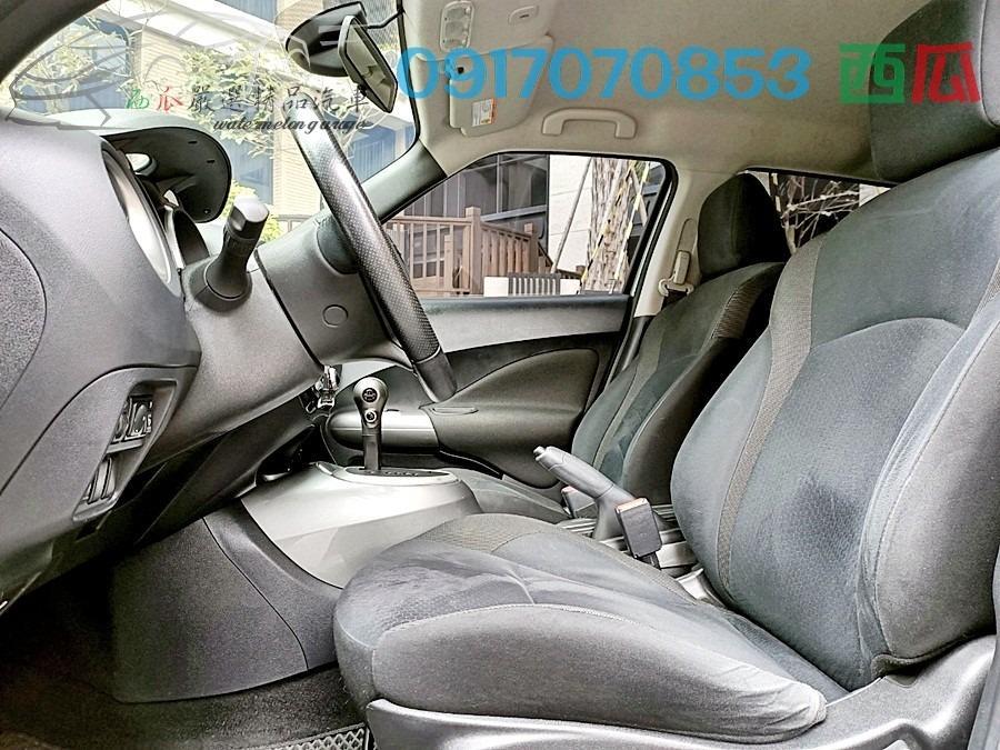 保證吸睛的顏色 認證好車 2013年 日產 JUKE 1.6 一手女用空姐車 車內香水味四溢 滿配 多功能影音!!!