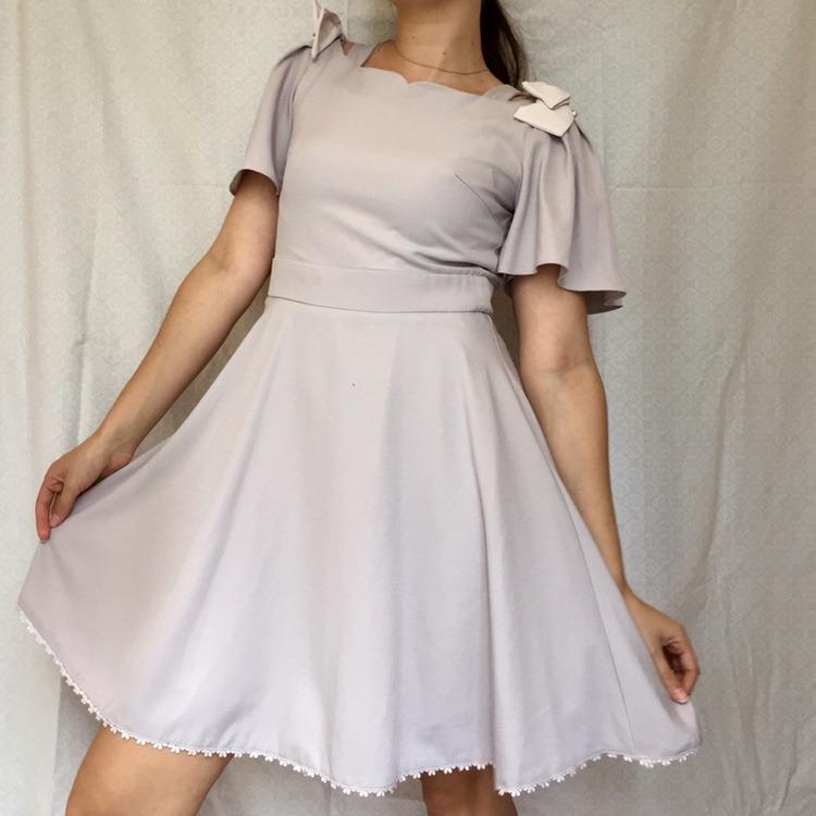 Amazing Lodispotto Japanese babydoll dress in silky and airy fabric.