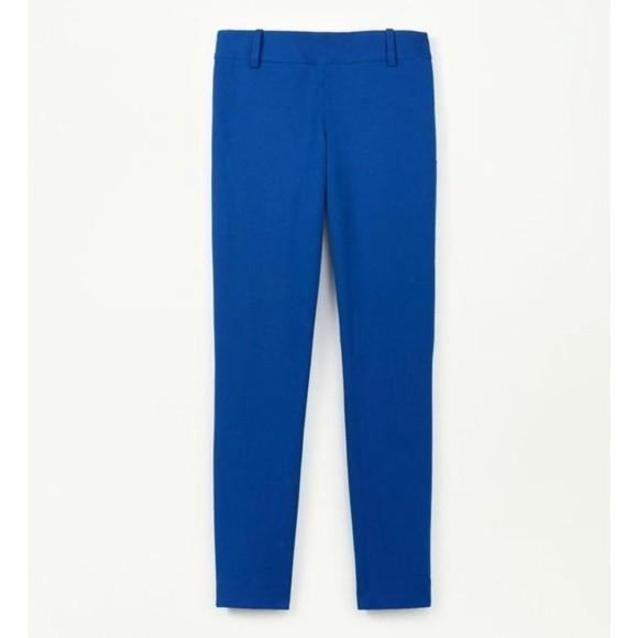 Aritzia Talula Babaton Elliot Pants (Size 4, TWO PANTS ROYAL BLUE AND PURPLE)