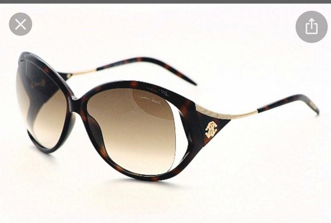 BNIB Roberto Cavalli Havana Brown Black Sunglasses