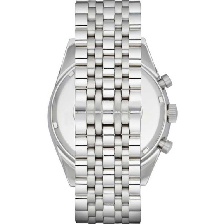 Brand New Emporio Armani Sportivo Chronograph Silver Dial Stainless Steel Men's Watch (AR6073)