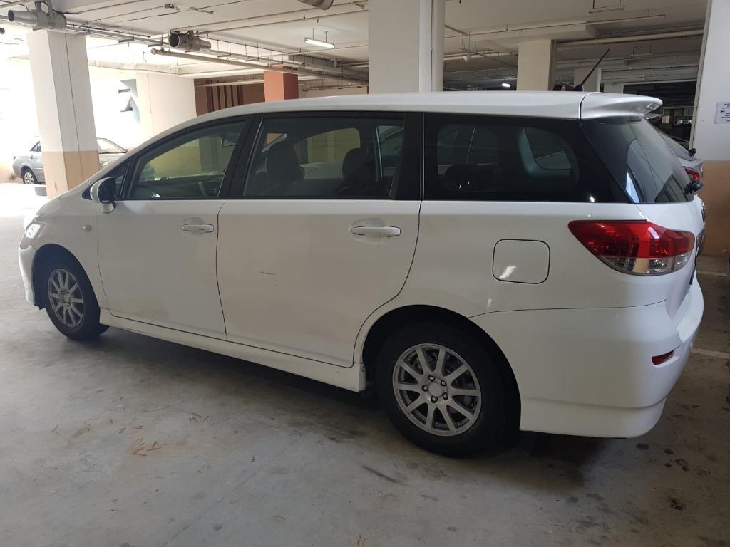 Car Rental Fri-Mon Weekend Package Toyota Wish 3-6 April ( Sembawang )
