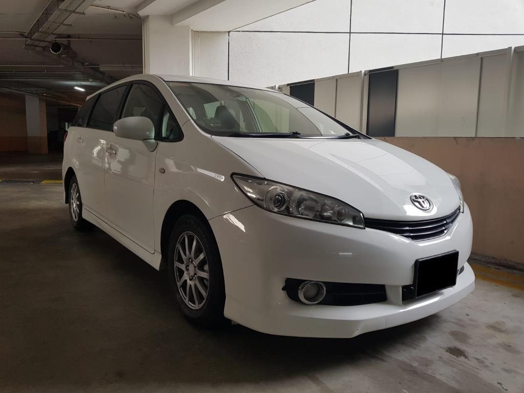 CAR RENTAL WEEKEND FRI-MON PACKAGE TOYOTA WISH GEN2 3-6 APR ( Yishun )