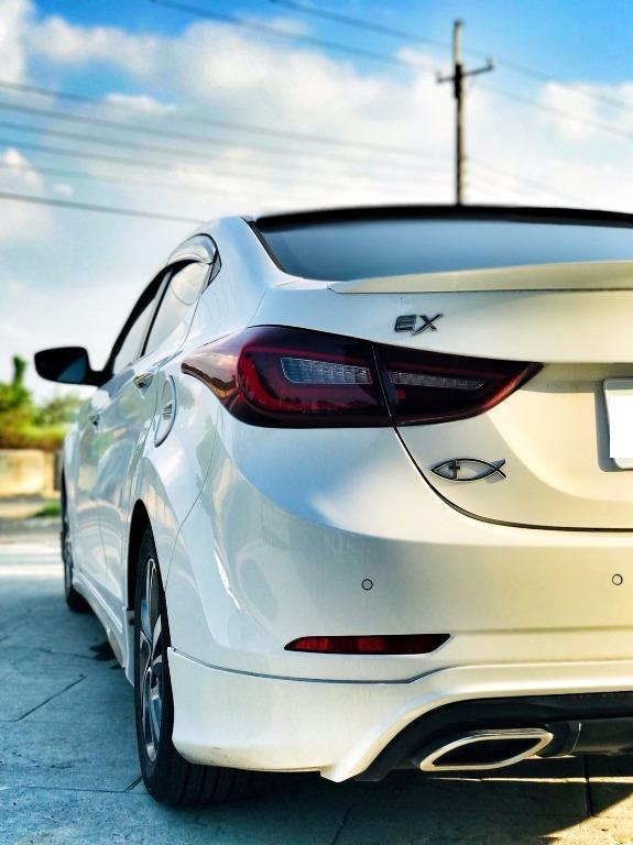 【FB搜尋桃園阿承】現代 超人氣ELANTRA 2015年 1.8CC 白色 二手車 中古車