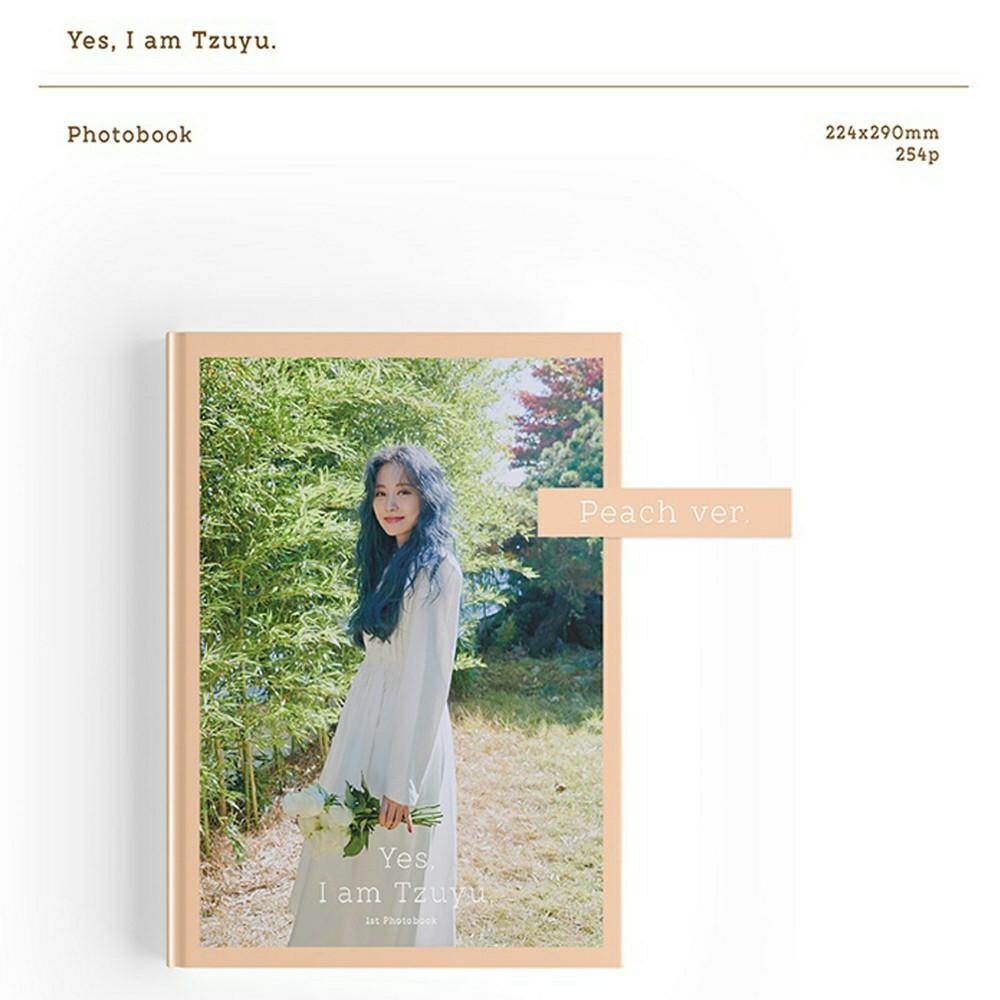 (FREE SHIPPING) TWICE Tzuyu Yes, I am Tzuyu 1ST PHOTOBOOK