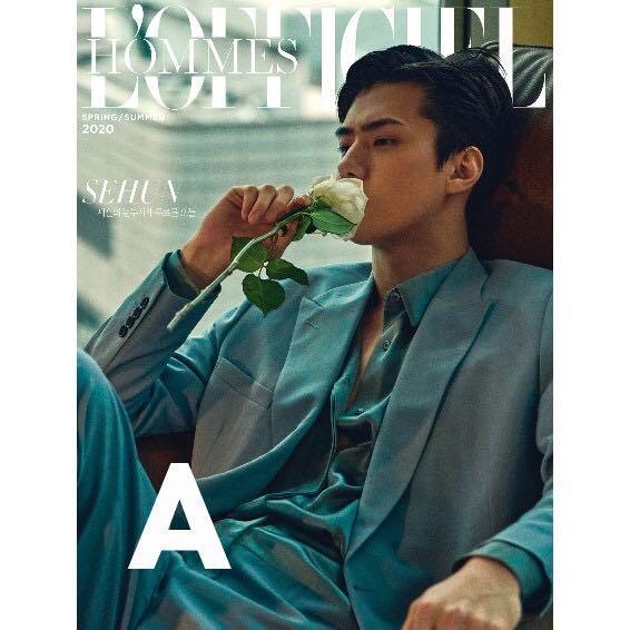 L'OFFICIEL HOMMES SPRING/SUMMER [2020.04] EXO : SEHUN