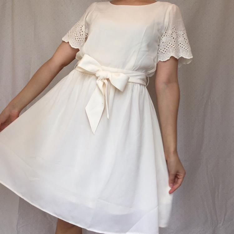 Majestic Legon Japanese babydoll dress in silky and airy fabric.