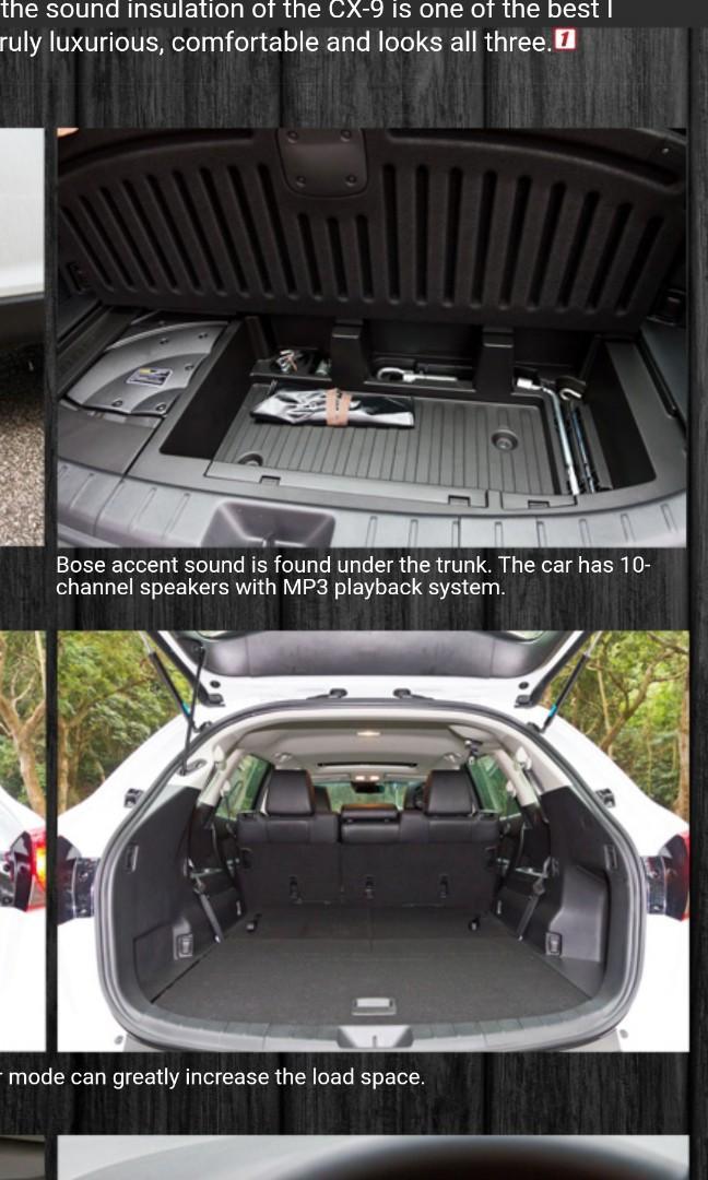 Mazda CX-9 2.5 AWD Turbo Auto