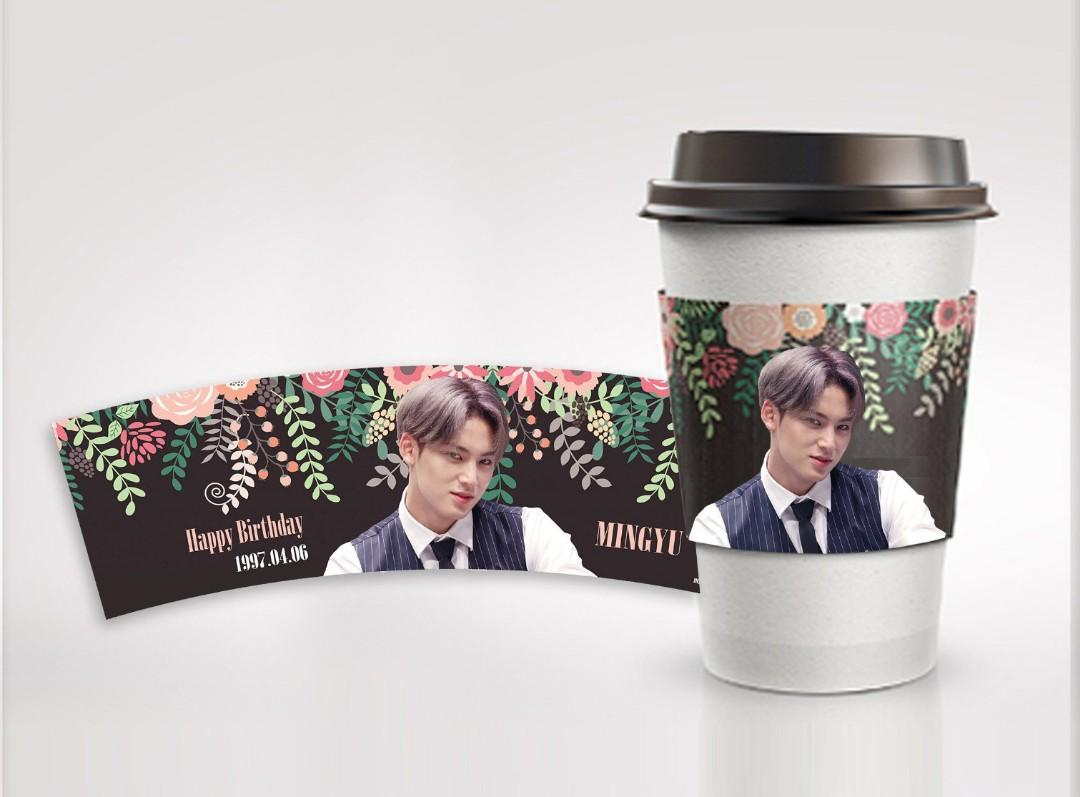 [MY GO] EMS Sharing Seventeen Mingyu Cupholder by @MMMG0406